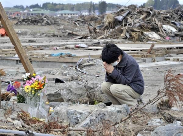 В Японии вспоминают жертв землетрясения 2011 года